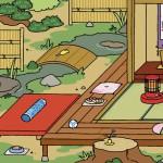 ねこあつめ 模様替え 池と床の間で人気のグッズやねこは?
